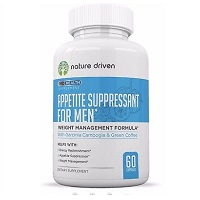 Nature Driven Appetite Suppressant for Men