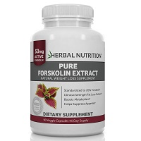 Herbal Nutrition Pure Forskolin Extract